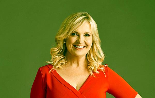 Image of Caption: Weather presenter, Carol Kirkwood