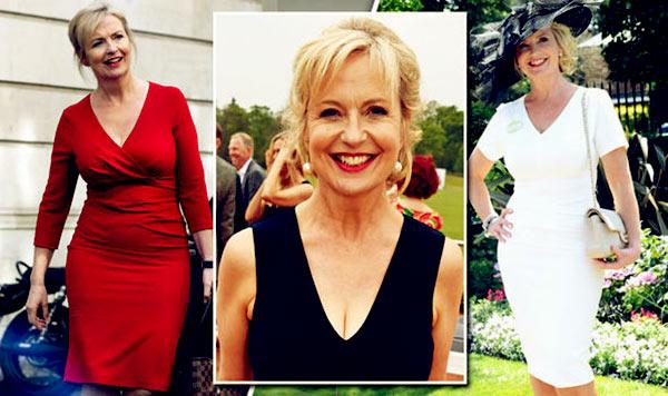 Image of Caption: Weather reporter Carol Kirkwood weight loss