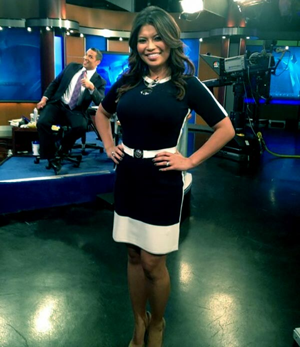 Image of Elita Loresca is considered one of the sexiest female TV casters in American TV.
