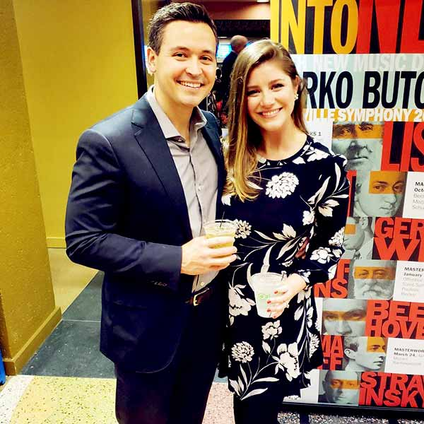 Image of Kait Parker with her husband Michael Lowry