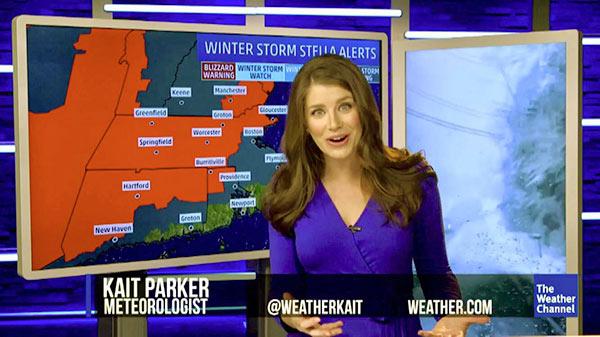 Image of Meteorologist, Kait Parker
