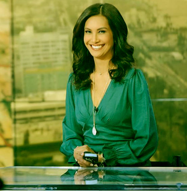 Image of Weather anchor, Maria Quiban