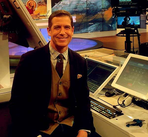 Image of Caption: American meteorologist, Reynolds Wolf