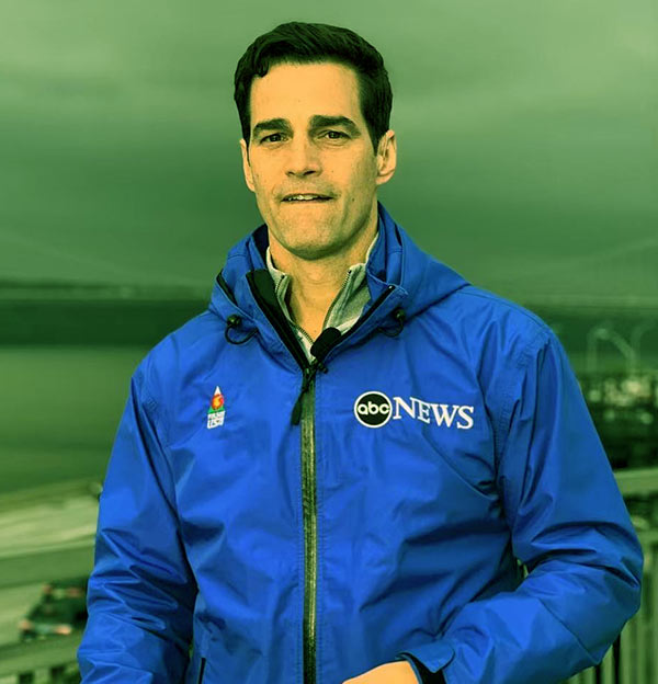 Image of Journalist, Rob Marciano
