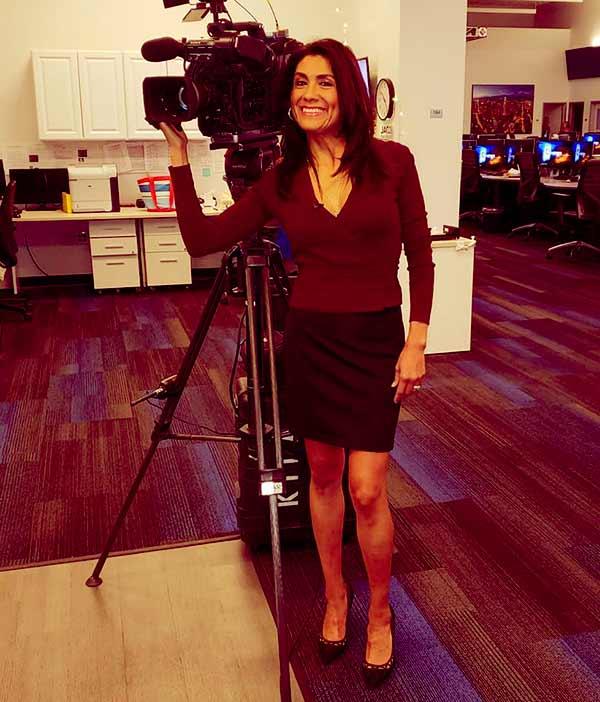 Image of TV Journalist, Vera Jimenez