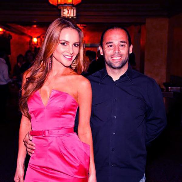 Image of Ximena Londono Córdoba with her ex-husband Carlos Rojas