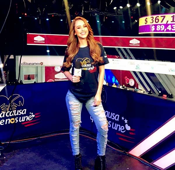 Image of Mexican weathercaster, Yanet Garcia