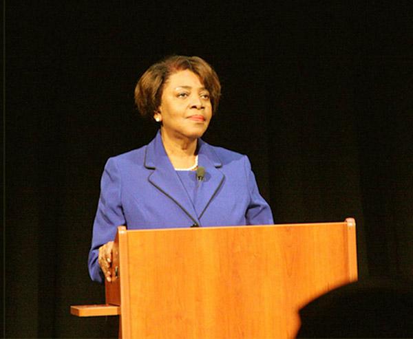 Image of Caption: American Politician, Linda Coleman