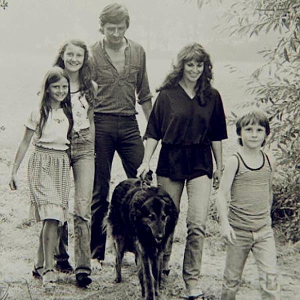 Image of David family and his family