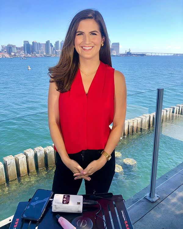 Image of Kaitlan Collins is a CNN's White House correspondent