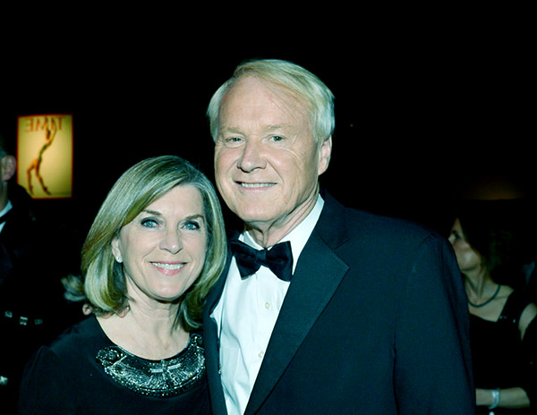 Image of Kathleen Cunningham and Chris Matthews are together since 1980