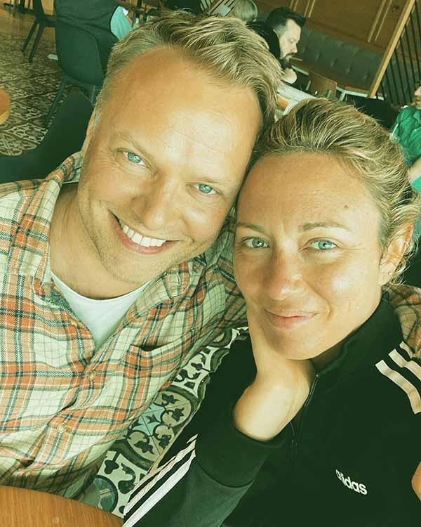 Image of James Fletcher and Brooke Baldwin love traveling