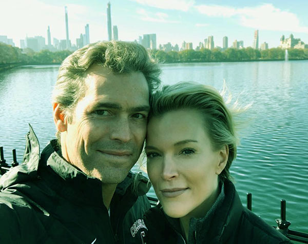 Image of Douglas and Megyn were in NY