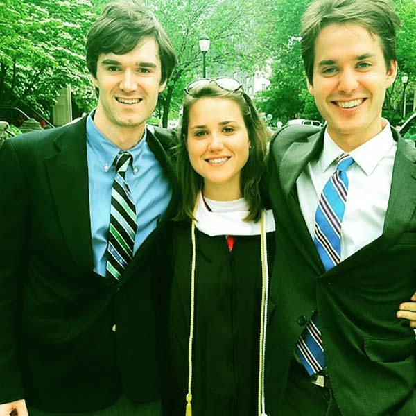 Image of Kathleen and Chris's three children