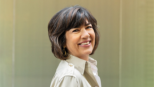 Image of Christina Amanpour's net worth and married life
