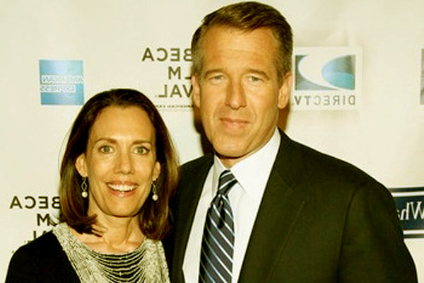 Image of Jane Gillian Stoddard is the wife of Brian Williams
