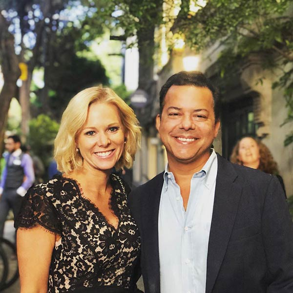 Image of Margaret Hoover and John Avlon tied the knot in 2009