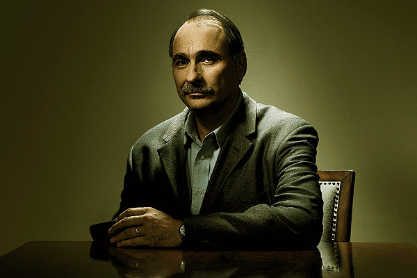 Image of David Axelrod, former strategist, and analyst to the president